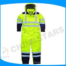 Reflective clothing flame retardant protective work clothing
