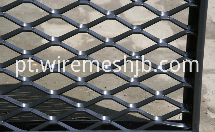 Expanded Mesh Panels