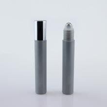 Rolinho de plástico prata de 15 ml na garrafa para creme para os olhos