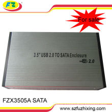 "3.5""SATA USB 2.0 HDD Hard Disk Drive External Case"