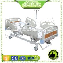 Einstellbare 3 Kurbel Krankenhaus Handbuch Bett mit ABS-Board