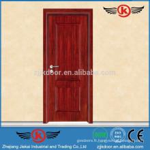 JK-W9082 Fabriqué en Chine Porte en bois en bois
