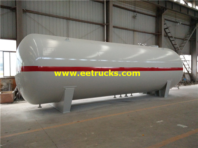 Large Anhydrous Ammonia Tanks
