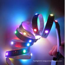 DC5V Ws2812 5050 9W Colorful IP65 Waterproof LED Digital Strip