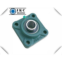 "4-Bolt Square Flange Ucf 7/8"", 15/16"", 1"" Pillow Block Bearing"