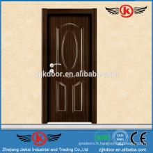 JK-MW9016 peau de porte en bois revêtue de mélamine à chaud