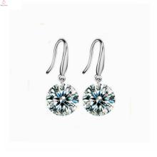 Guangzhou Zirconia 925 Sterling Silver Stud Earrings For Women