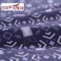 Luxury hotel Blue print rubber patch skid resistance mattress
