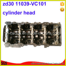 Завершите Zd30ddti Zd30 Головка блока цилиндров Zd3 K5mt 11039-Vc10A 11039-Vc101 Zd30 Головка блока цилиндров для Nissan