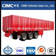 Remolque De Camión Container Cimc 3 Axle Encerrado