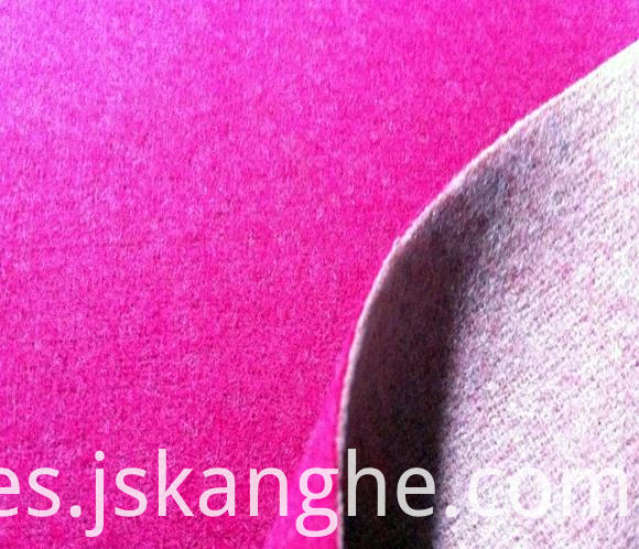 Double-sided wool coat fabric