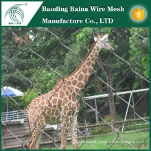 Stainless steel wire mesh net for zoo animals
