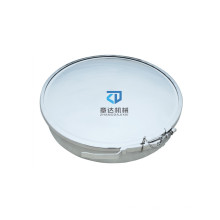 Round Clamp Manhole stainless steel easy operated  round ring hoops Manway 400mm 500mm manhole cover