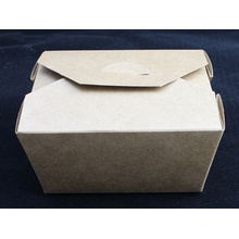 Food Grade Brown Kraft Paper Salad Box Sushi Box Noodle Box