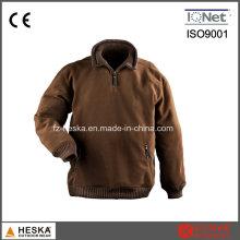 Costela gola Mens Polar do velo jaqueta de venda quente