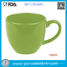 Venta al por mayor Green Simple Style Coffee Cup