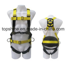 Adjustable Professional Industrial Polyester Working Full-Body Safety Harness Belt