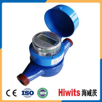 Medidor eletrônico de água inteligente com coletor sem fio