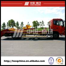 Caminhão especial com o tanque traseiro seco do almofariz da mistura, petroleiro Backing-Levando (HZZ5120ZBG)
