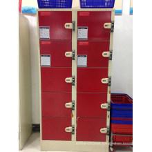 Supermarket Metal Storage Cabinet Locker