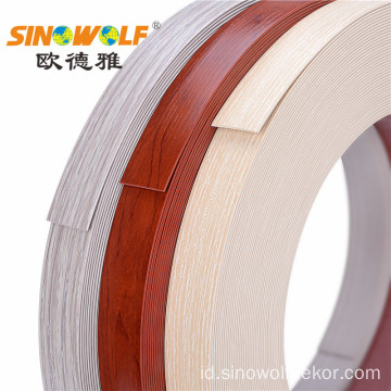 PVC Plastik Edge Banding Strips untuk Office Furniture