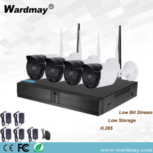 Mafi kyawun 4CH 720P Wireless Security NVR Kits