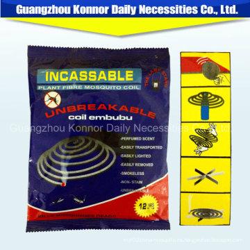 Venta al por mayor de bobina de papel de fibra de la planta Anti Mosquito Killer Coil