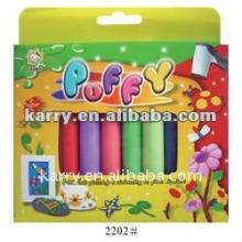 10-Farben-Puff-Farbe mit Rohr für Kinder gesetzt