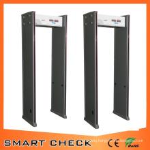 6 Zone Security Detector Walk Through Metal Detector Gate