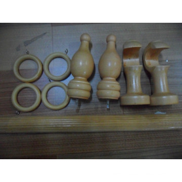 1 3/8 Inch Curtain Rod Fluted