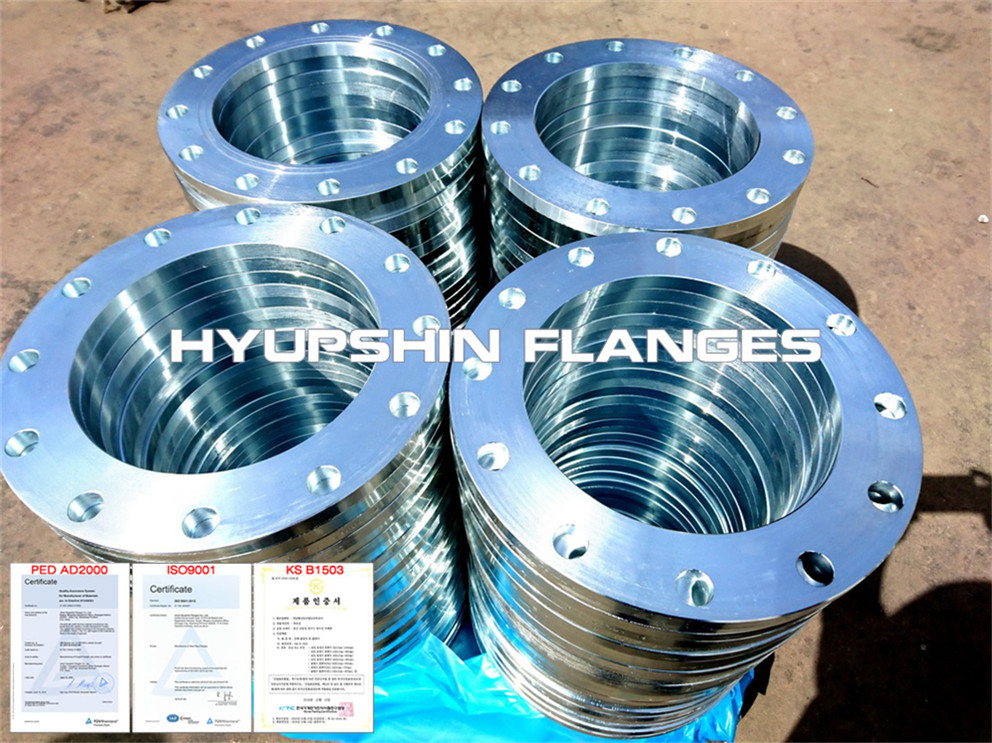 Hyupshin Flanges Cold Galv Plate