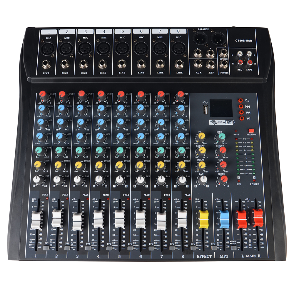 digital sound console