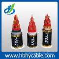 XLPE/PVC Insulated PVC/PE Sheath Copper Conductor Armoured Shielded Control Power Cable