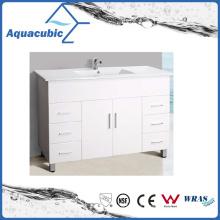 Australian Popular Customize High Glossy White Bathroom Vanity (AC8120)