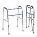 Aluminum Folding Walker Rollator, Height Adjustable