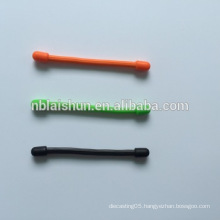 Wholesale Silicone Gear Cable Tie Reusable Rubber Twist Tie