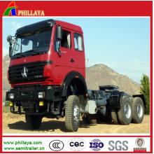Sinotruck Shaman Beiben Militär Prime Mover Traktor Kopf
