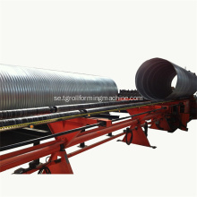 Avloppssystem Steel Culvert Pipe Making Machine