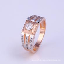 Os mais novos projetos Two Tone Xuping Fashion Jewelry Ring (11915)