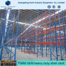 China Manufature Steel Multilayer Shelf Rack