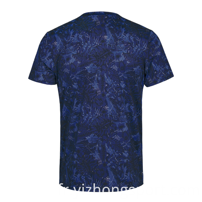 Polyester Spandex Dry Fit T Shirt