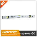 Magnetic spirit level Aluminium Box level Silver anodized surface spirit level hot-sale series level