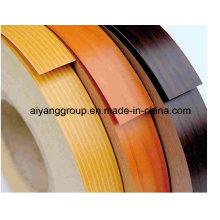 Banda de borda de 1mm em PVC com alto brilho para gabinete