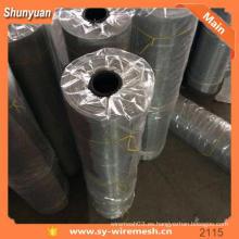 Tejido de alambre malla decorativa de aluminio