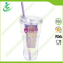 20oz Nouveau comme vasque à eau avec infuseur Ans Straw (IB-A4)
