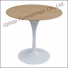 Elegantes rundes Holz Top Tulip Tisch zum Verkauf (SP-GT389)