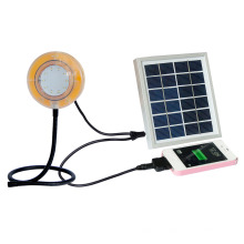 Luz Solar a prueba de agua con cargador de teléfono celular