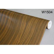Выбитое деревянное зерно ПВХ пленка для украшения интерьера