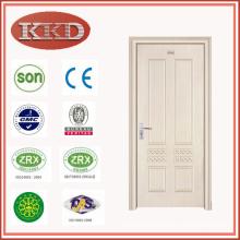 Simple Commercial Steel Wood Interior Door JKD-1077 for Bedroom