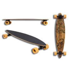 Bamboo+Canadian Maple Longboard (LCB-64)